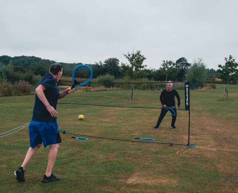Launchpad Badminton Game