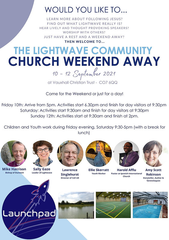 Learn more about following Jesus Find out what Lightwave really is Hear lively and thought