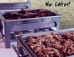 We Cater!!