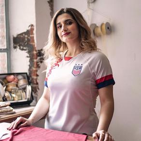 Football x Fashion, Chat with Jersey Embellisher, Diana Al Shammari aka @TheFootballGal