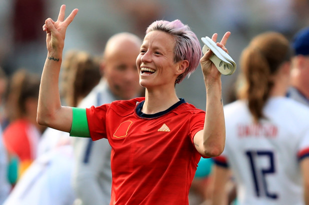 Megan Rapinoe says she would not visit Trump and White House