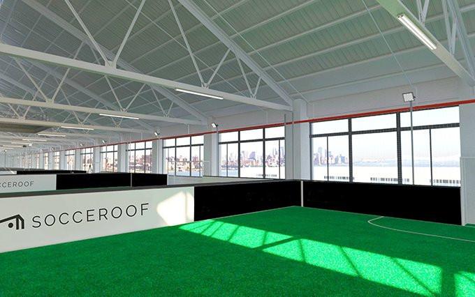 Indoor Soccer NYC Brooklyn Socceroof