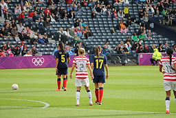 Melissa Ortiz | USWNT | Heather Mitts | USA vs Colombia | Olympics | Olympics Soccer USWNT | The soccer blogge