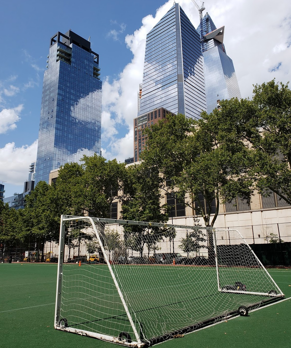 NYC Chelsea Park Turf Soccer Field