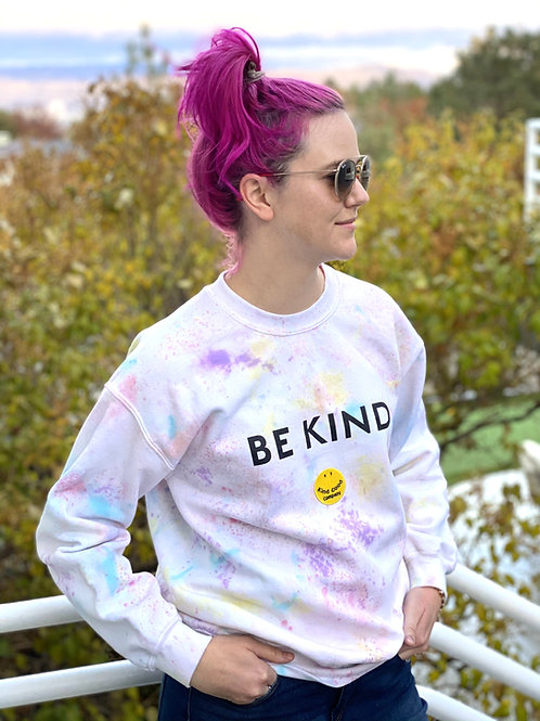 BE KIND Tie Dye Sweatshirt