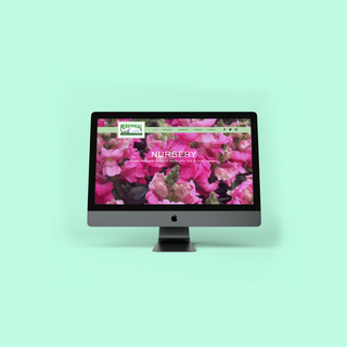 Perennial Landscape and Nursery Website Design