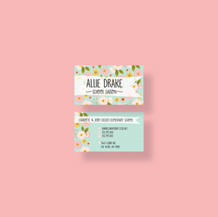 Allie Drake Business Card