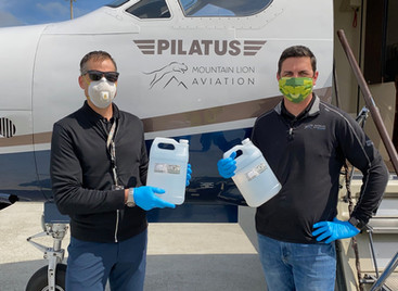Mountain Lion Aviation and Truckee Tahoe Airport Providing Free Flights for Medical Personnel, Equip