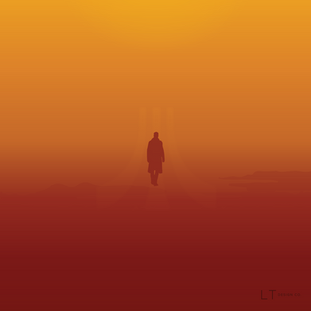 Blade Runner 2045 Minimal Movie Poster