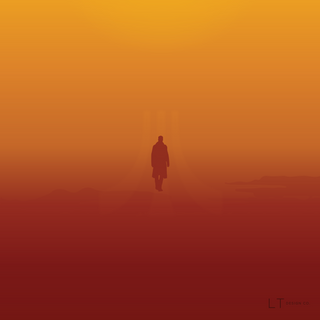 Blade Runner 2045 Minimal Movie Poster