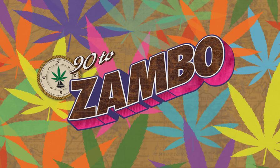 90 to Zambo logo design