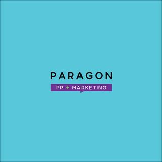 Paragon PR Logo Design