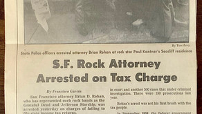 Brian Rohan 1937 -2021   Legendary Rock and Roll Attorney