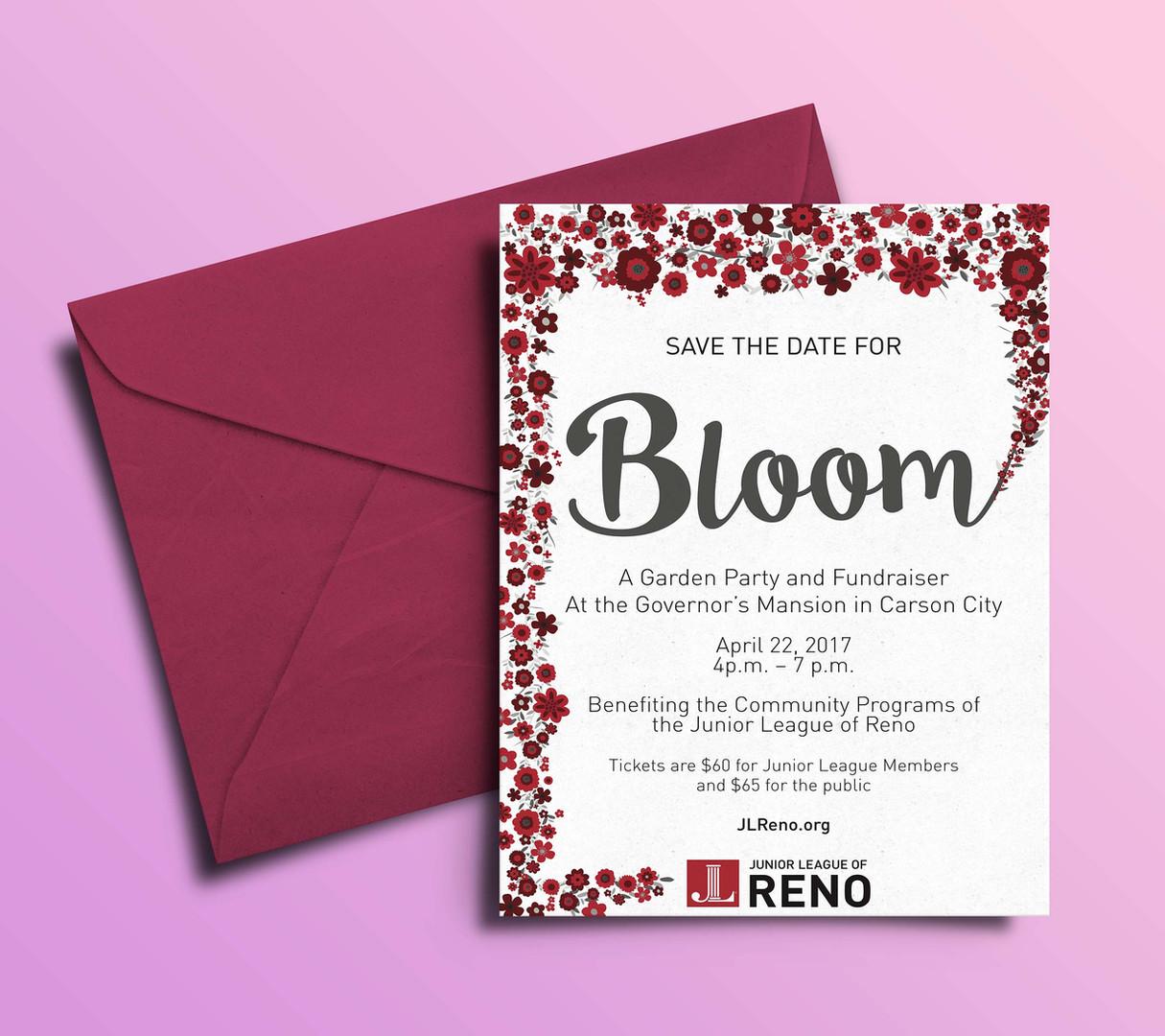 Bloom invite deisgn