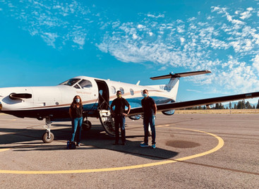 Mountain Lion Aviation and Truckee Tahoe Airport Team Up to Deliver COVID-19 Treatment