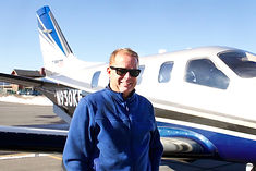 Jim Wilkinson chairman of mountain lion aviation and chairman ceo of trairunner international in truckee california