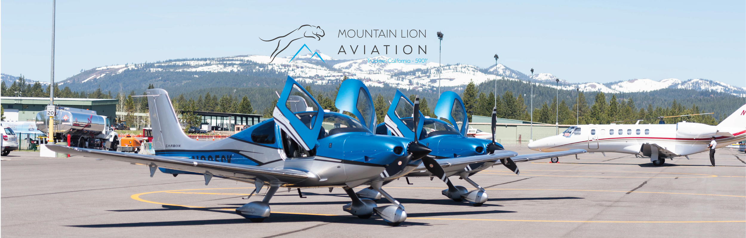 Northern California's #1 Private Air Charter - Mountain Lion