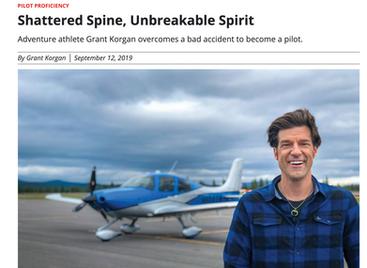 Shattered Spine, Unbreakable Spirit