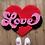 Thumbnail: Love Rug (or wall hanging)