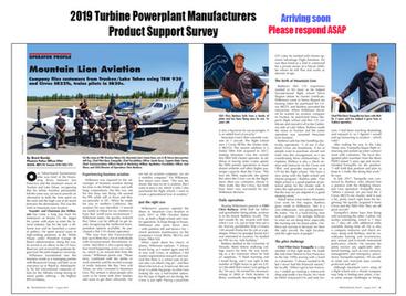 Pro Pilot Magazine Feature on Mountain Lion Aviation