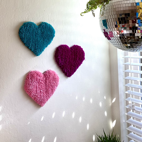 Heart Wall hangings or coasters