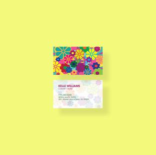 Floral Business Card Desgin