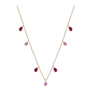Ruby and Sapphire Necklace