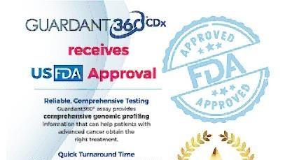 FDA 최초 액체생검NGS Guardant360 CDx 승인