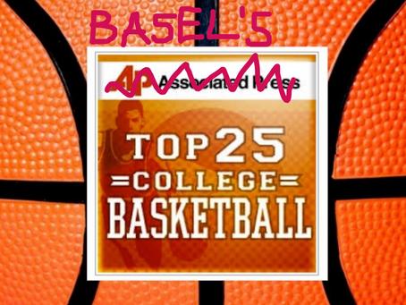 My Week 11 NCAAM Top 25