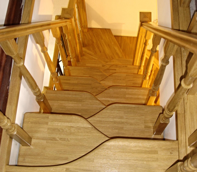 """Лестница """"Утиный шаг"""""""