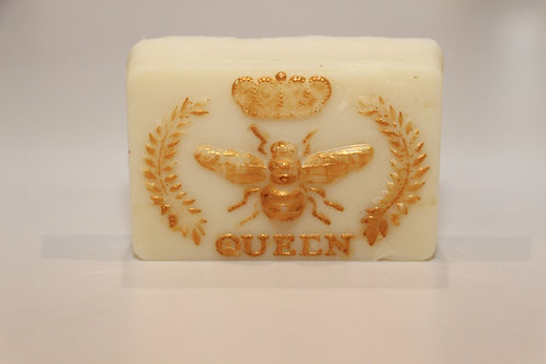 Bee My Queen Handmade Soap with Milk and Honey