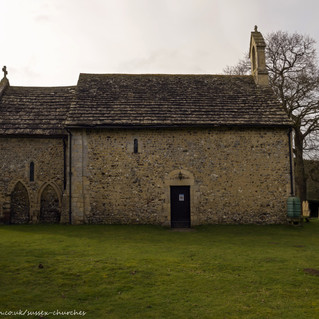 All Saints Church, Wiston north side