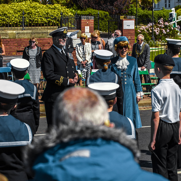 Sea Cadets at the Drumhead Service