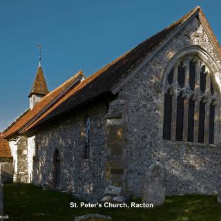 St. Peter's Church, Racton, west win