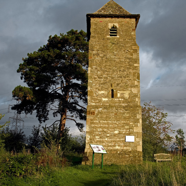 Lassington Church tower