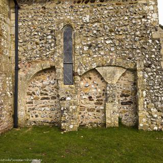 All Saints Church, Wiston south arches