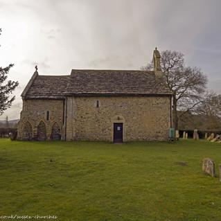 All Saints Church, Wiston nort side