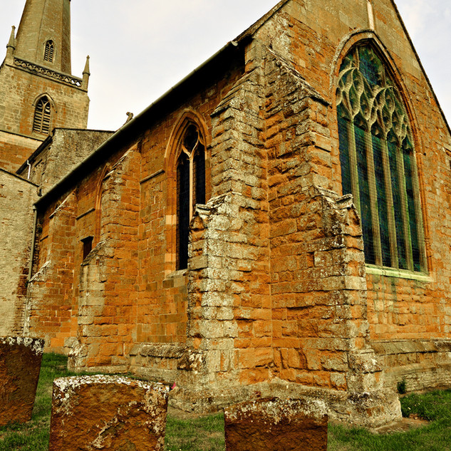 St. Gregory's buttresses