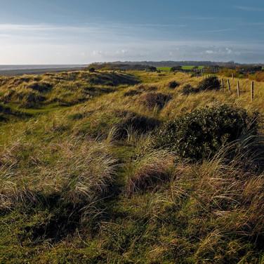 Littlehampton dunes looking westwards