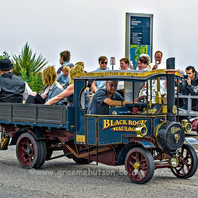 Blackrock Haulage steam