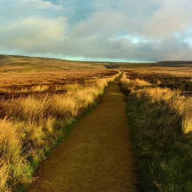 Snake Pass panorama