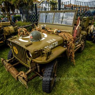American WW2 Jeep