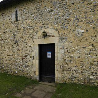 All Saints Church, Wiston north door