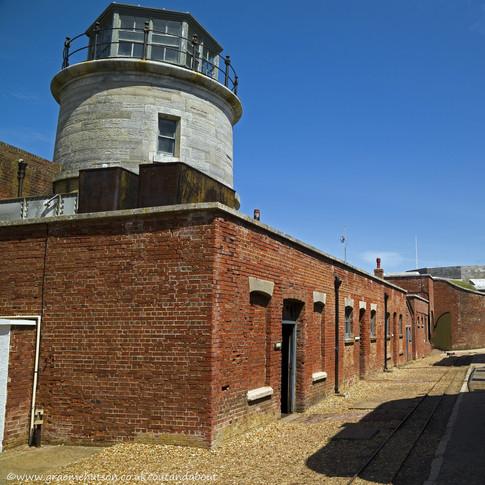 c Round observation post, Hurst Castle.jpg