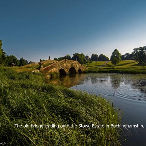 Stowe bridge with description