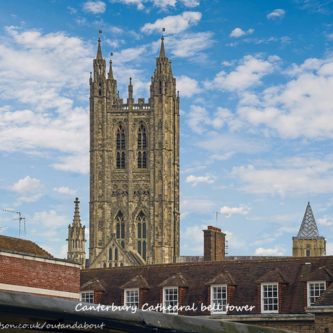 Canterbury rooftops
