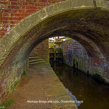 Worksop bridge and Lock, Chesterfield Canal