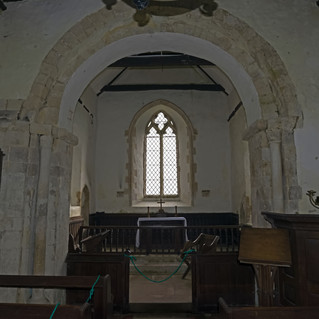 All Angels chancel arch