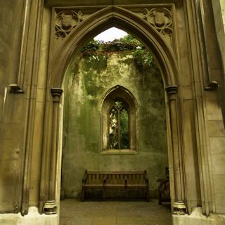 St Dunstan's entrance