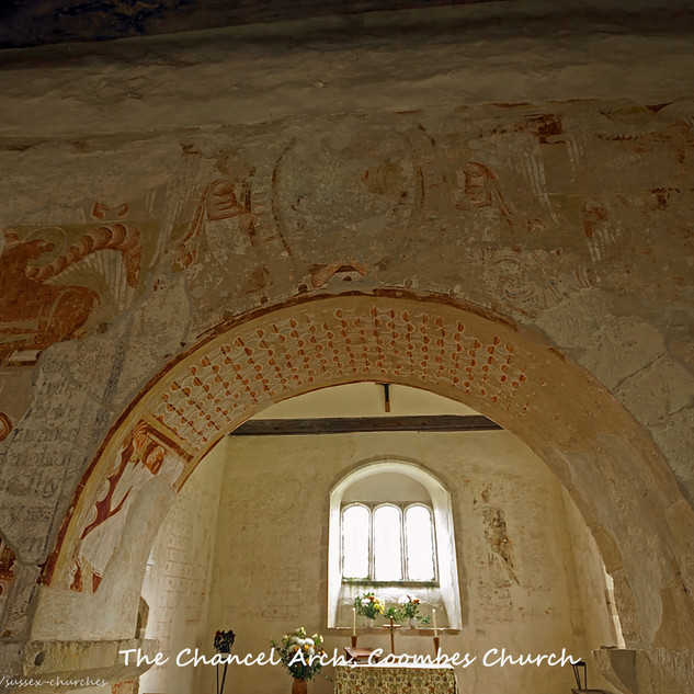 Coombes Chancel arch